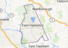 East Hampton CT Locksmith service area map