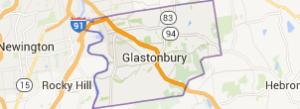 Glastonbury CT map